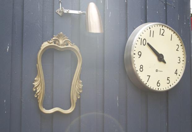 Cafe Go style - frame, clock, Anna Kosmanovski