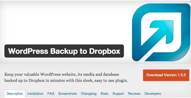 Wordpress plugin Dropbox