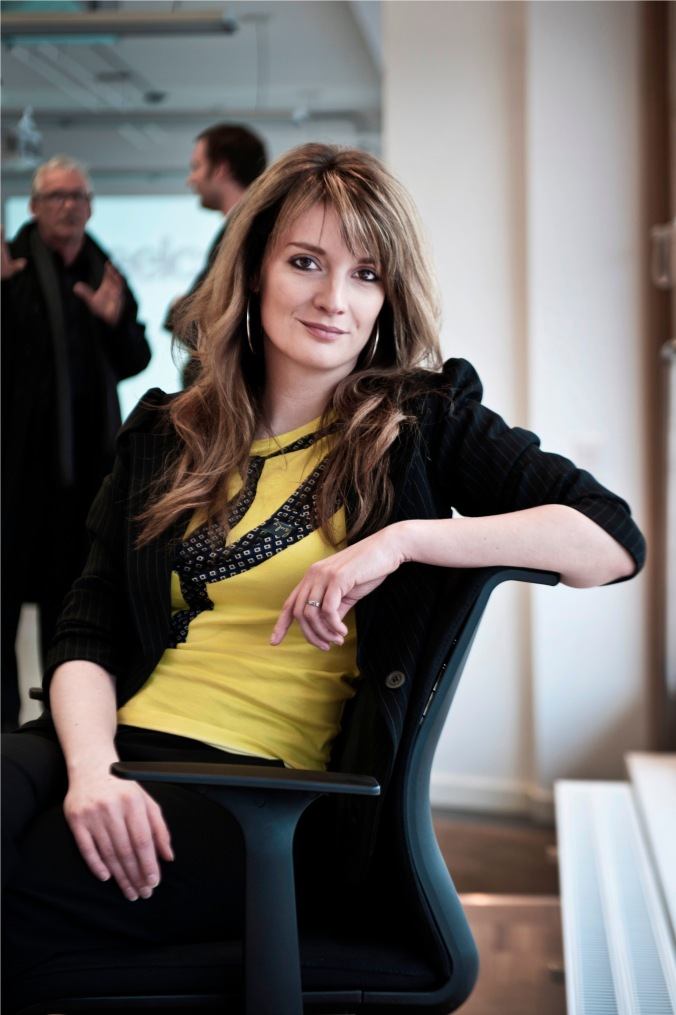 Victoria Redshaw, from Scarlet Opus, drew crowds when she spoke at this year's Decor + Design show in Melbourne.